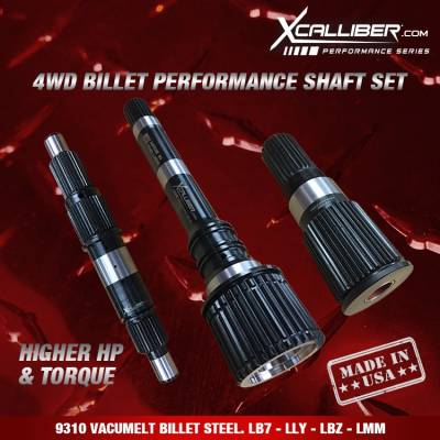 XCalliber - XCallibur Performance Shaft Set (2001-2010) LB7-LMM