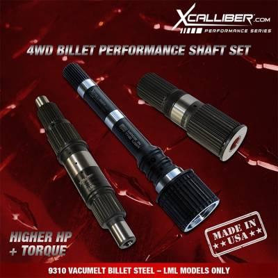 XCalliber - XCallibur Performance Shaft Set (2011-2016) LML