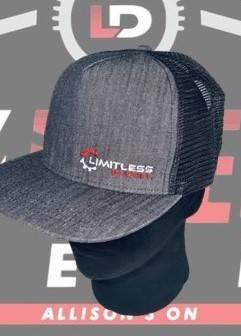 Limitless Diesel - Limitless Charcoal Trucker Snapback