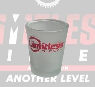 Limitless Diesel - Frosted Shot Glass 2-pack