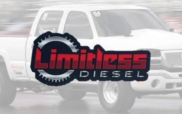 """Limitless Diesel - Red/Silver Clutch Stickers 3-Pack  3x1.5"""""""