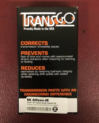 TransGo - TransGo jr shift kit W/ Mike L trim springs