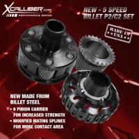 XCalliber - XCalliber 5 Speed Performance Billet P2 & C2 Set with Modified P1 Sun Gear, LCT