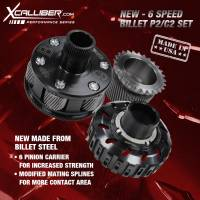XCalliber - XCalliber 6 Speed Performance Billet P2 & C2 Set with Modified P1 Sun Gear, LCT