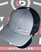 Limitless Merch - Hats - Limitless Diesel - Limitless Light Grey Trucker Snapback