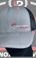 Limitless Diesel - Limitless Light Grey Trucker Snapback - Image 4