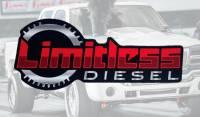 """Limitless Diesel - Red/Silver Clutch Sticker 8x3.5"""" - Image 2"""
